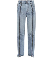 Vetements X Levi's High Waisted Jeans Blue