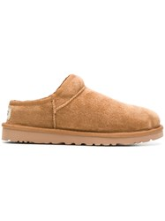 Ugg Australia Calf Suede Slippers Brown