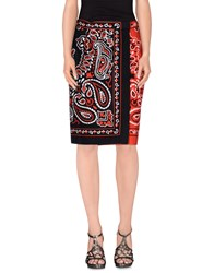 Moschino Couture Skirts Knee Length Skirts Women Red