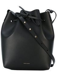 Mansur Gavriel Large Bucket Bag Women Leather One Size Black