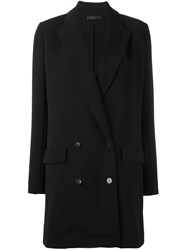 The Row 'Merouze' Coat Black