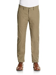 Ben Sherman Slim Stretch Cotton Chinos Deep Tan