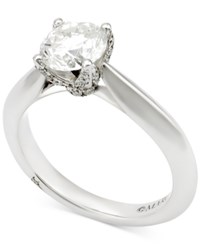 Marchesa Diamond Engagement Ring 1 5 8 Ct. T.W. In 18K White Gold
