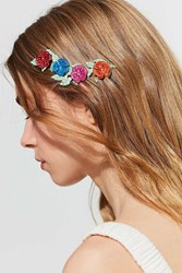Urban Outfitters Painted Floral Halo Headband Assorted