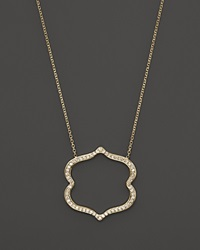 Kc Designs Diamond Vintage Inspired Pendant Necklace In 14K Yellow Gold 16