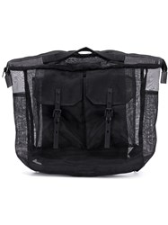 Ally Capellino Frank Sheer Backpack Black