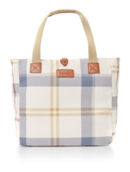 Barbour Canvas Summer Tote Bag Multi Coloured Multi Coloured