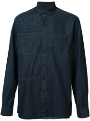 Lanvin Button Up Shirt Blue