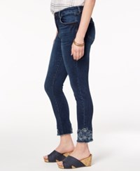 Styleandco. Style Co Embroidered Ankle Skinny Jeans Created For Macy's Monty