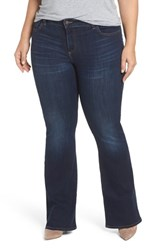 Lucky Brand Plus Size Women's Ginger Bootcut Jeans Twilight Blue