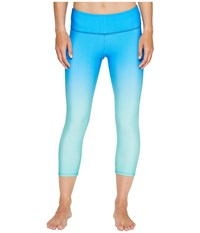 Onzie Graphic Capris Indian Blue Ombre Women's Capri