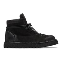 Marsell Black Gomme Boots