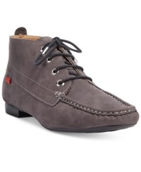 Marc Joseph New York 5Th Ave Booties Women's Shoes Grey Suede