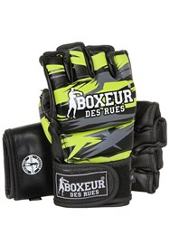 Boxeur Des Rues Geometric Synthetic Mma Gloves