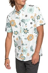 Quiksilver Sunset Floral Woven Shirt White
