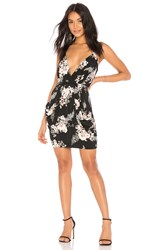 Bcbgeneration Faux Wrap Dress Black