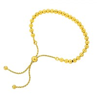 Azendi Silver And Gold Vermeil Adjustable Bead N A N A