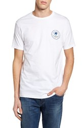 Rip Curl Men's Search Vibes Graphic T Shirt White
