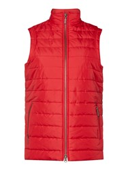 Barbour Current Gilet Red