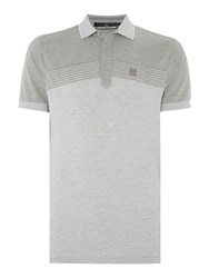 Duck And Cover Flux Polo Shirt White