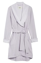 Ugg Blanche Ii Short Robe Lavender Aura Heather