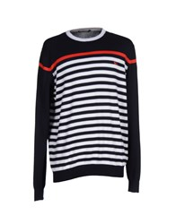 Harmontandblaine Knitwear Jumpers Men Dark Blue