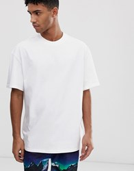 Weekday Great T Shirt In White