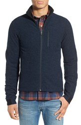 Ibex Men's 'Scout Jura' Merino Wool Blend Zip Jacket Midnight Heather