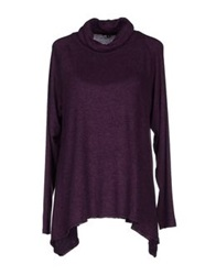 Amy Gee Turtlenecks Dark Purple