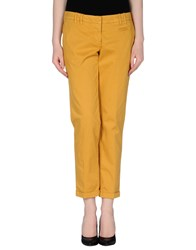 Gold Case Sogno Trousers Casual Trousers Women Brown