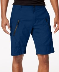 Inc International Concepts I.N.C. Men's 11 Cargo Shorts Created For Macy's Basic Navy