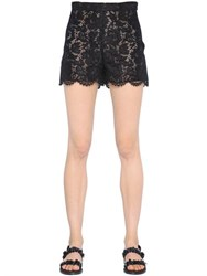 Valentino Heavy Cotton Lace Shorts