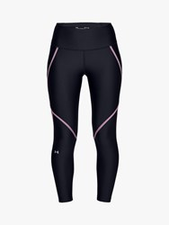 Under Armour Edgelit Training Ankle Cropped Leggings Black Pink