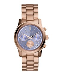 Runway Rose Golden Stainless Steel Watch Michael Kors