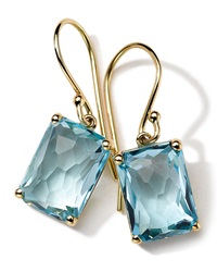 Ippolita 18K Gold Rock Candy Gelato Topaz Earrings