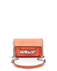 Linea Pelle Crossbody Grayson Bar Coral