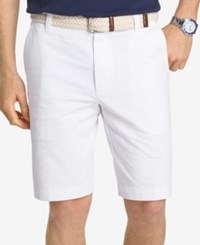 Izod Men's Saltwater Shorts Bright White