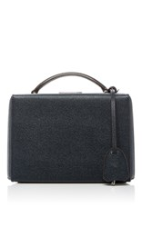 Mark Cross Grace Small Box Bag Navy