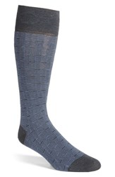 Boss Men's 'Feeder Stripe' Socks Charcoal Black