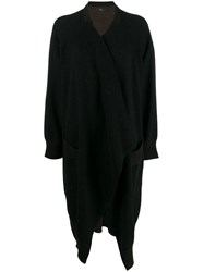 Y's Wrapped Front Jumper Black