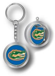 Aminco Florida Gators Spinning Keychain Silver Team Color
