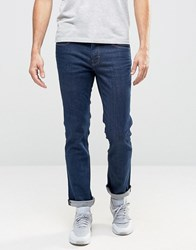 Boss Orange 63 Slim Fit Jeans Rinse Rinse Wash Blue