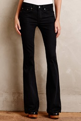 Jean Shop Flare Stretch Jeans Jet Black