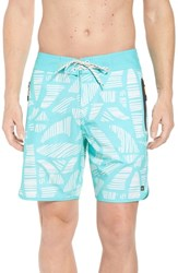 Quiksilver Waterman Collection Odysea Board Shorts Blue Radiance