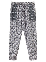 East Cecily Print Trousers Lavender