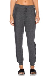 Michael Stars Drawstring Pull On Pant Charcoal