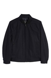 Marc New York Barlow Wool Blend Bomber Jacket Midnight