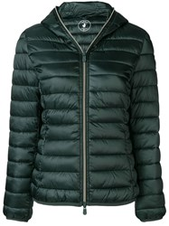 Save The Duck Padded Winter Jacket Green
