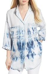 Dl1961 Hester Orchard Tie Dye Chambray Shirt