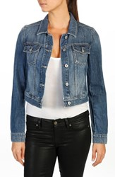 Paige Women's Vivienne Crop Denim Jacket